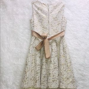 Rare Editions Dresses - Girls Formal Lace and Mesh Dress